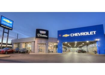 Oshawa car dealership Ontario Motor Sales Chevrolet Cadillac