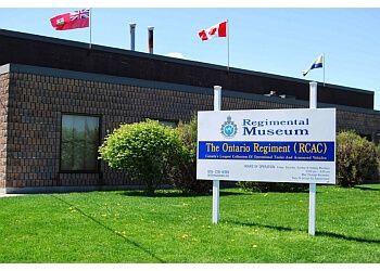 Oshawa landmark Ontario Regiment Museum