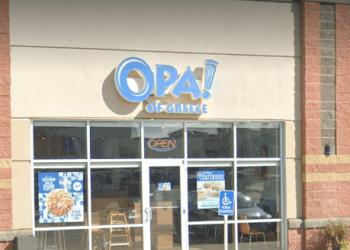 Grande Prairie mediterranean restaurant Opa! of Greece