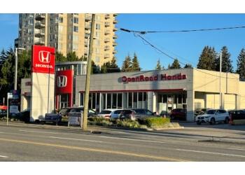 Burnaby car dealership OpenRoad Honda