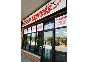 Cambridge optician Optical Express