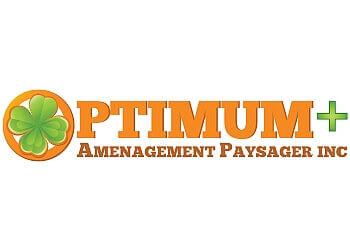 Quebec landscaping company Optimum+ Aménagement Paysager Inc.