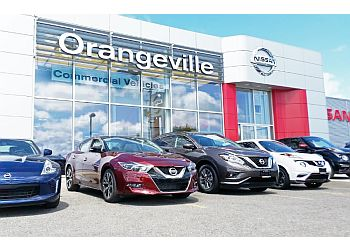 Orangeville car dealership Orangeville Nissan