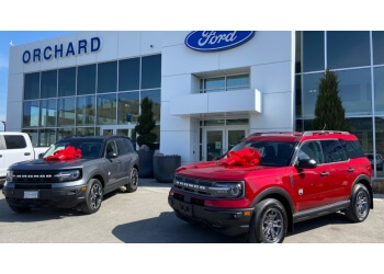 Kelowna car dealership Orchard Ford