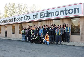 Edmonton garage door repair Overhead Door Company of Edmonton