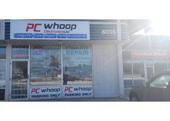 Edmonton computer repair PC Whoop Electronics Ltd