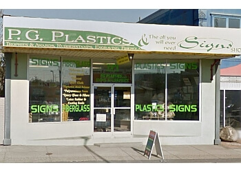 Prince George sign company P G Plastics Signs & Graphics