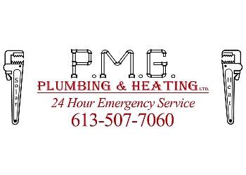 Kingston plumber P.M.G. Plumbing and Heating Ltd.