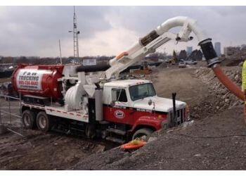 Welland septic tank service P & W Trucking