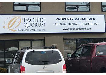 Kelowna property management company Pacific Quorum Properties Inc