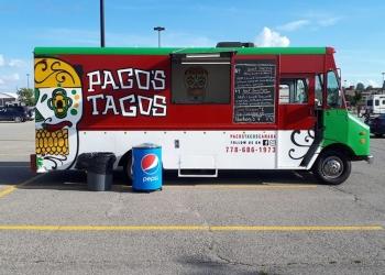 Orangeville food truck Pacos Tacos