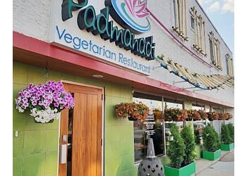 Edmonton vegetarian restaurant Padmanadi vegetarian restaurant