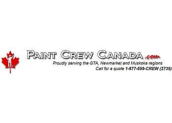 Newmarket painter Paint Crew Canada