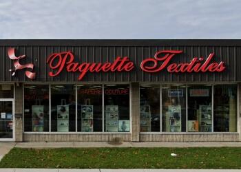 Gatineau sewing machine store Paquette Textiles
