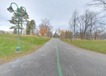 Sherbrooke public park Parc Jacques-Cartier