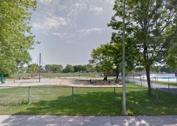 Laval public park Parc Montcalm