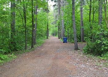 Shawinigan hiking trail Parc de l'Île-Melville