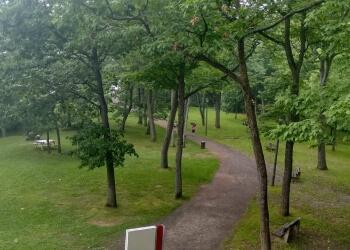 Quebec public park Parc de la Plage-Jacques-Cartier