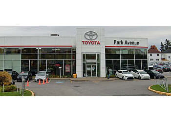 Brossard car dealership Park Avenue Toyota
