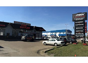 Sherwood Park car repair shop Park Muffler Radiator Brakes & Tires