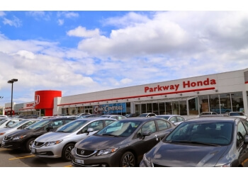 Toronto car dealership Parkway Honda