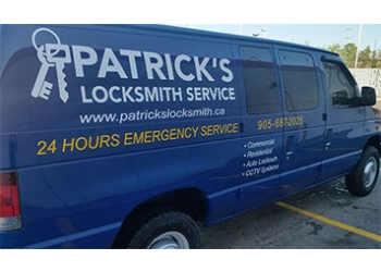 Welland locksmith Patrick's Locksmith Service