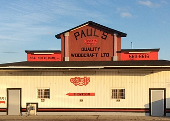Sudbury custom cabinet Paul's Quality Woodcraft Ltd.