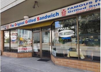 Burnaby sandwich shop Paul's Sub Shop