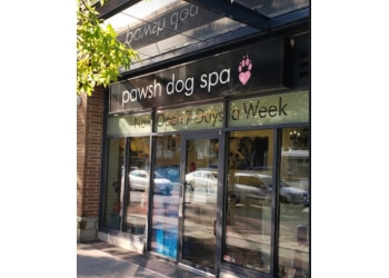 Vancouver pet grooming Pawsh Dog Spa + Boutique