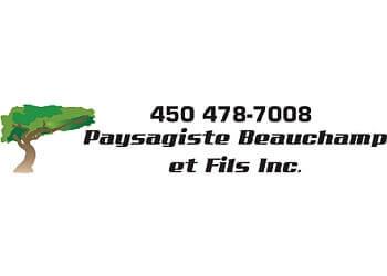Terrebonne landscaping company Paysagiste Beauchamp et Fils Inc.