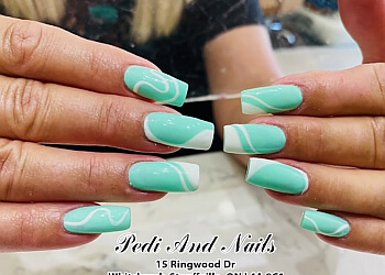 Stouffville nail salon Pedi And Nails
