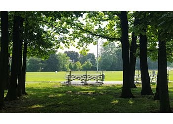 Whitby public park Peel Park