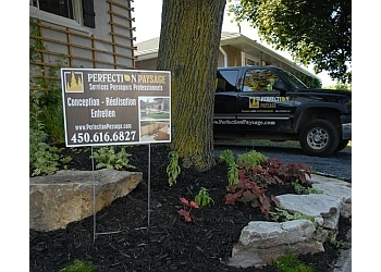 Longueuil landscaping company Perfection Paysage Inc.