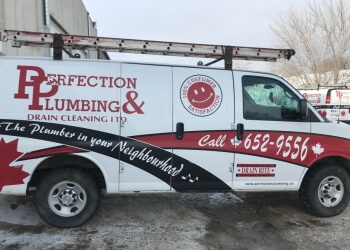 Saskatoon plumber Perfection Plumbing & Drain Cleaning Ltd.