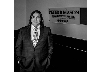 Edmonton real estate lawyer Peter B Mason Real Estate Lawyer