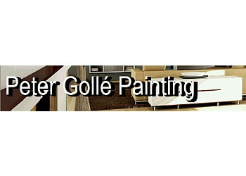 Kingston painter Peter Golle Painting