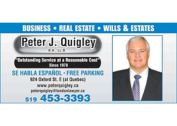 London business lawyer Peter J. Quigley