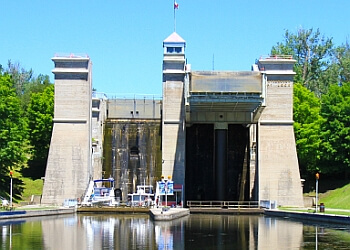 Peterborough landmark Peterborough Lift Lock