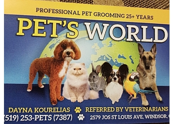 Windsor pet grooming Pets World