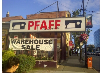 Vancouver sewing machine store Pfaff Sewing Centre Of Vancouver Ltd.