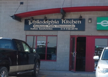 Orangeville sandwich shop Philadelphia Kitchen