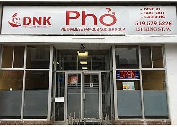 Kitchener vietnamese restaurant Pho DNK