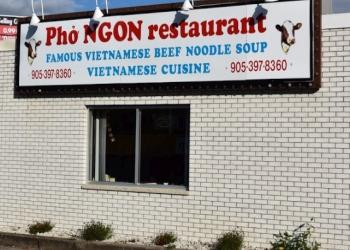 St Catharines vietnamese restaurant PHO NGON