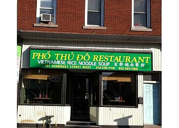 Ottawa vietnamese restaurant Pho Thu Do