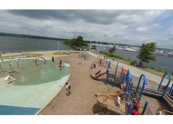 Hamilton public park Pier 4 Park