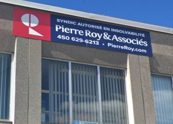 Laval licensed insolvency trustee Pierre Roy & Associes