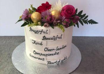 Saint John cake Pink Icing