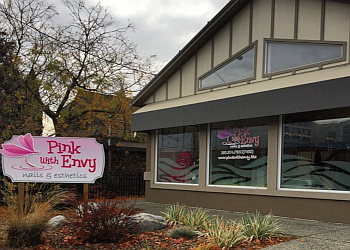 Kamloops nail salon Pink With Envy Nails & Esthetics