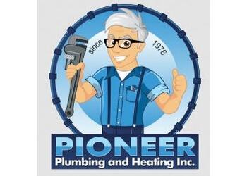 Richmond plumber Pioneer Plumbing & Heating Inc