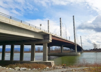 Port Coquitlam landmark Pitt River Bridge